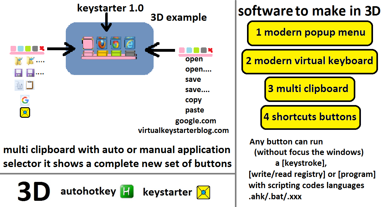 keystarter screenshot